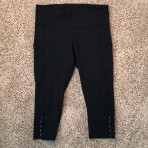 Lululemon Fast and Free Crop pant